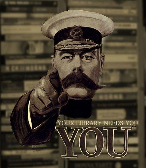 Des affiches vintage pour que les bibliothèques ne soient pas du passé   Edition en ligne & Diffusion   Scoop.it
