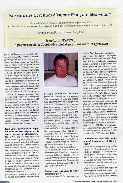 Gard : un précurseur de la Coopérative généalogique sur internet (genea30) | Nos Racines | Scoop.it