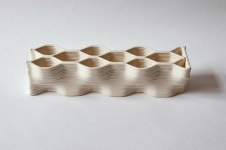 Nuevos materiales: Ladrillos cerámicos impresos en 3D para la construcción a gran escala | Plataforma Arquitectura | Construcción | Scoop.it