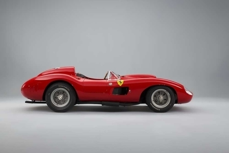 Rétromobile 2016 - Une Ferrari cotée plus de 30 mIllions d'euros à la vente Artcurial ! (vidéo) | Voitures anciennes - Classic cars - Concept cars | Scoop.it