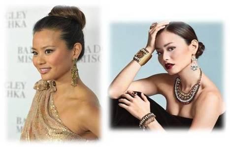 Jamie Chung Long Hairstyles In Dark Brown Hair Color | Beauty and Hairstyles | Scoop.it