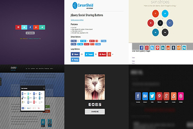 30+ Awesome jQuery Social Share Plugins & Examples | wpfreeware | Scoop.it