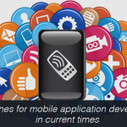 Guidelines for mobile application development in current times | Web-Chilly | Scoop.it