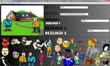 MiComic Maker, crea rápidamente viñetas o memes con este software gratuito | Recull diari | Scoop.it