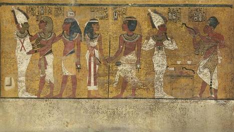Une salle secrète «remplie de trésors» dans le tombeau de Toutankhamon   Les déserts dans le monde   Scoop.it