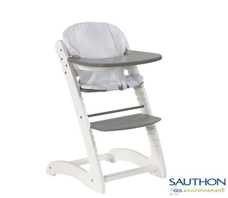 coco la chaise haute volutive en bois. Black Bedroom Furniture Sets. Home Design Ideas