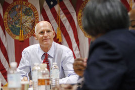 Scott's mission still about jobs - Florida | Florida Advocate | Scoop.it