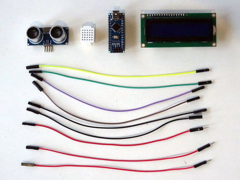 Arduino Nano: Ultrasonic Ranger(Ping) Distance I2C 2 X 16 LCD Display With Visuino | Arduino Focus | Scoop.it