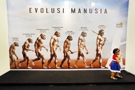 Java Man visits Kota Kasablanka shopping mall | The Jakarta Post | Archaeology and the Bronze Age | Scoop.it