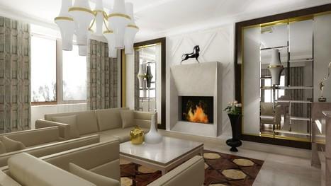 4 modalitati inedite de a-ti decora casa cu oglinzi - HUFF   Decorating Ideas - Home Design Ideas   Scoop.it