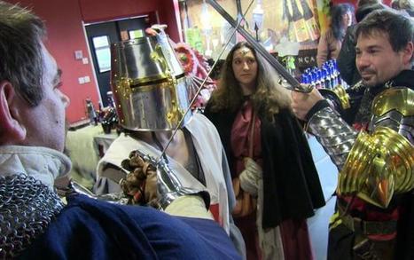 Ils boivent et s'habillent médiéval | Jeux de role écrits et transmédia | Scoop.it
