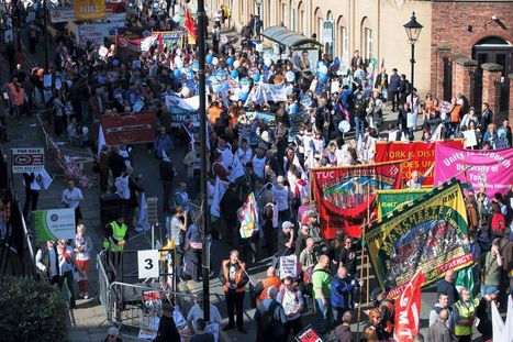 Pictures and video: 50,000 join Manchester anti-cuts march as Tory conference begins | Welfare, Disability, Politics and People's Right's | Scoop.it