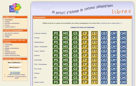 Un portail d'échange de contenus pédagogiques sous licence libre de la Petite Section au CM2 | | Geeks | Scoop.it