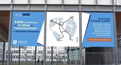 Demain le climat ou comment Sorbonne Universités promeut sa recherche | Enseignement Supérieur et Recherche en France | Scoop.it