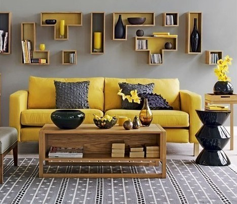 Living room furniture ideas with trend sofa design, colors and decoration | Designinggal | interior design inspirations | Scoop.it