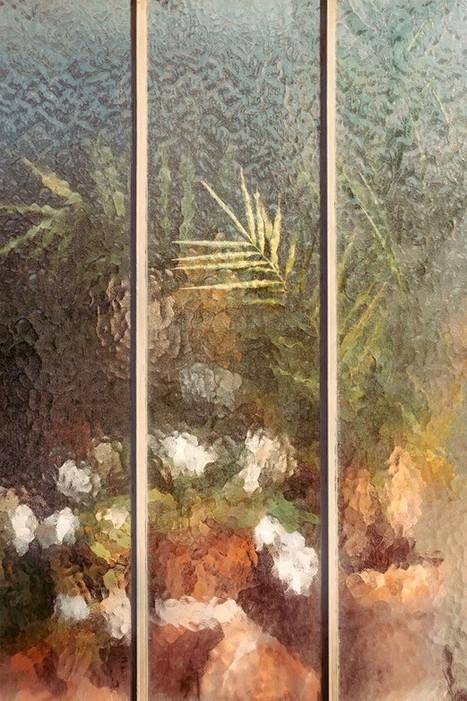 A travers le verre, des fleurs se transforment en aquarelles   Bouche à Oreille   Scoop.it