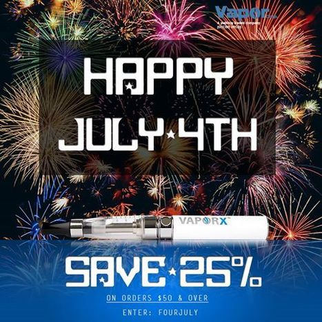 Happy July 4th - Vapor Electronic Cigarette | electronic cigarette exporter and manufacturer | Scoop.it