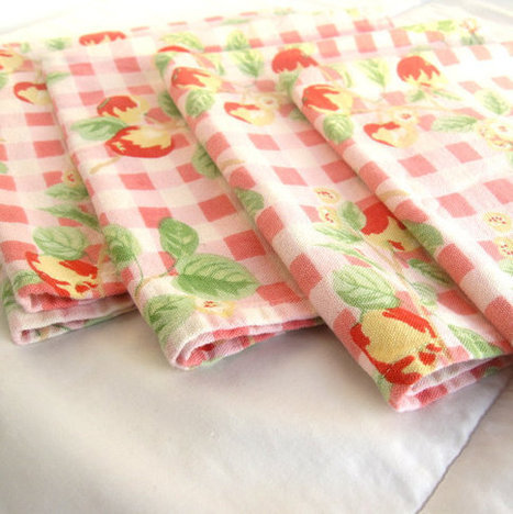Vintage Napkins with a Fruity Flair | Vintage living | Scoop.it