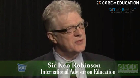 Sir Ken Robinson Discusses The Education Landscape at ASCD 2014 - EdTechReview | Learning space for teachers | Scoop.it