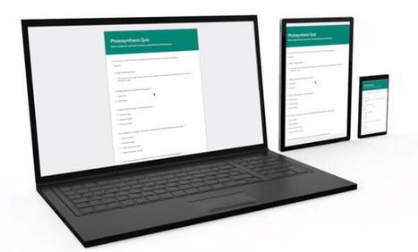 Microsoft Forms, para crear encuestas, quizzes y otros formularios, llega a Office 365 Educación | Recull diari | Scoop.it