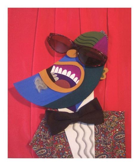 David Cowles Illustrations: Ray Charles | Jazz Plus | Scoop.it