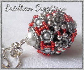 Learn to make jewelry making and beading - DIY Beaded Bead by Eridhan Creations   Beads and Beading   Scoop.it