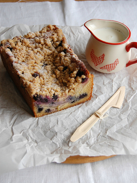 Apple and blueberry crumble cake.  #Cooking #Recipes | Jager Foods | Scoop.it