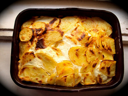 Delish Recipes: Layered Potato Casserole (Hungarian Rakott Krumpli) | Delish Recipe | Scoop.it