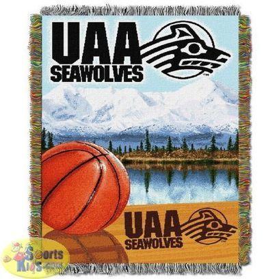 "Northwest NCAA Alaska Anchorage Seawolves ""Home Field Advantage"" Tapestry Throw | NCAA Bedding Sets - Sportskids.com | Scoop.it"
