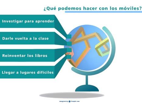 Cuatro maneras de utilizar los móviles en el aula | Apptúa | M-learning | Scoop.it