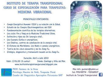 INSTITUTO DE TERAPIA TRANSPERSONAL: Curso de especialización: MEDICINA VIBRACIONAL | medicina vibracional | Scoop.it