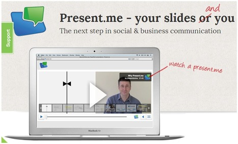 Present.me: Make a slideshow with your powerpoint & web cam | Digital Storytelling | Scoop.it