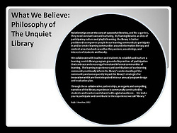 "2/180: What We Believe @ The Unquiet Library on... | Buffy Hamilton's Unquiet Commonplace ""Book"" 