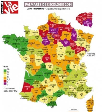 Le palmarès 2014 de l'écologie en France - Cdurable.info | environnement paysage biodiversité en SSD | Scoop.it