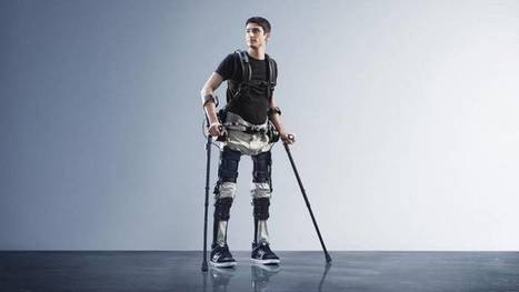 Mit diesem Exoskelett können gelähmte Menschen wieder gehen | 21st Century Innovative Technologies and Developments as also discoveries, curiosity ( insolite)... | Scoop.it