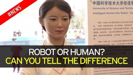 China unveils Freakishly Human-like Robot that understands Speech & can read Facial Expressions | Technology in Business Today | Scoop.it
