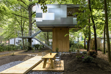 Urban Treehouses in Berlin Equipped with Kitchen and Bath for Long-Term Living | Le It e Amo ✪ | Scoop.it