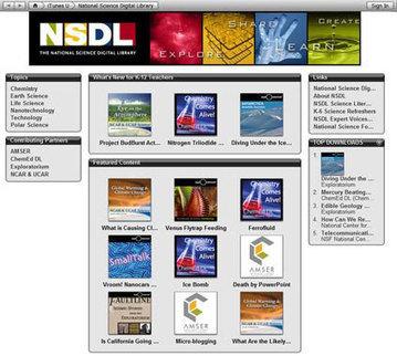 National Science Digital Library on iTunes U | Homework Helpers | Scoop.it