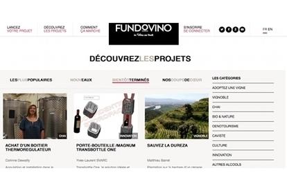 Fundovino : le financement participatif 100% vin ! - Terre de Vins | Actus Vins | Scoop.it