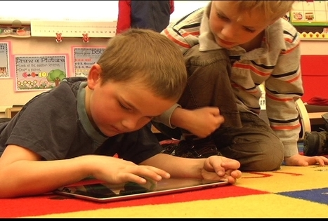 iPads Enhance Learning For Kindergarten Class | KMVT | Twin Falls, ID News, Weather and Sports | Idaho News, Weather and Sports | Local | Vicksburg Technology for Education | Scoop.it