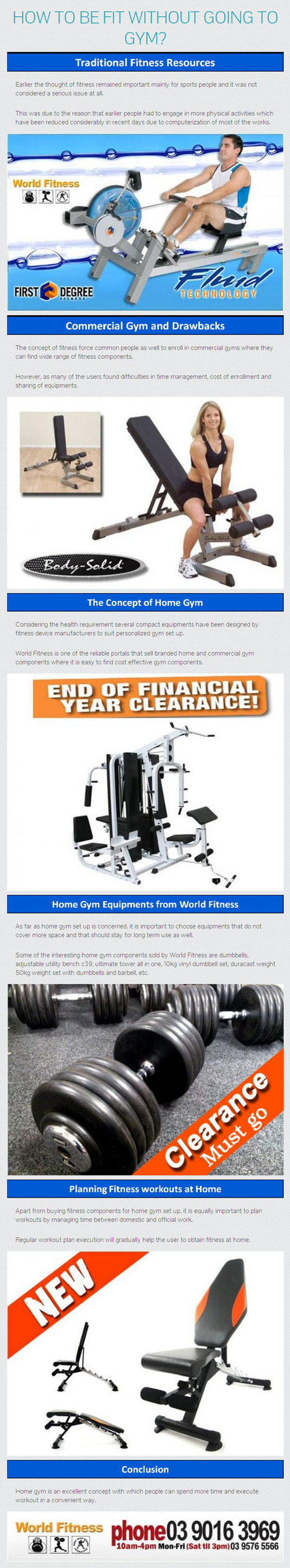 How to be fit without going to Gym? –Know from www.worldfitness.com.au   worldfitness   Scoop.it