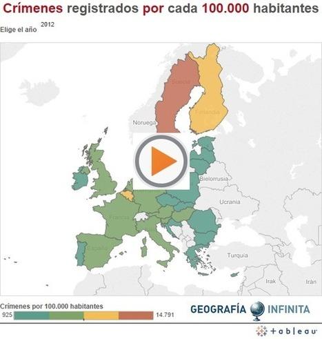 Geografía europea de la seguridad: ¿por qué hay más policía en el sur del continente? | Geografía Infinita | Urbanismo, urbano, personas | Scoop.it