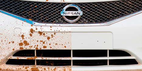 RIP, Car Washes: See Nissan's New Self-Cleaning Car in Action [Video] | 21st Century Innovative Technologies and Developments as also discoveries, curiosity ( insolite)... | Scoop.it
