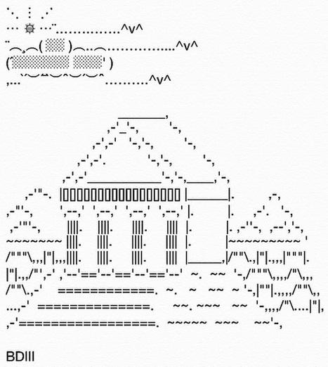 Text Art by Yari-Ashigaru on DeviantArt | ASCII Art | Scoop.it