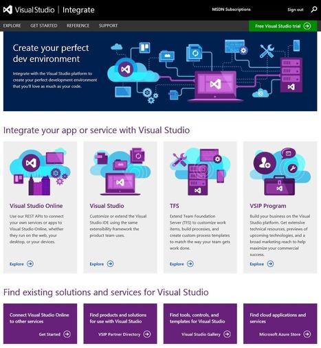 Visual Studio Online REST APIs and Service Hooks - Somasegar's blog - Site Home - MSDN Blogs | News de la semaine .net | Scoop.it