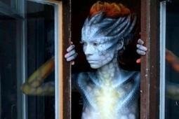 Le maquillage russe, niveau alien | Trollface , meme et humour 2.0 | Scoop.it