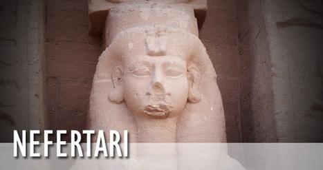 Queens of Egypt | Nefertari Queen of Egypt | Mujeres Reinas En La Antiguedad | Scoop.it