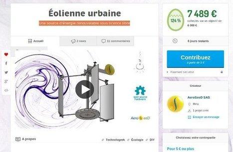 Éolienne urbaine sous licence libre, par Aeroseed | Economie Responsable et Consommation Collaborative | Scoop.it