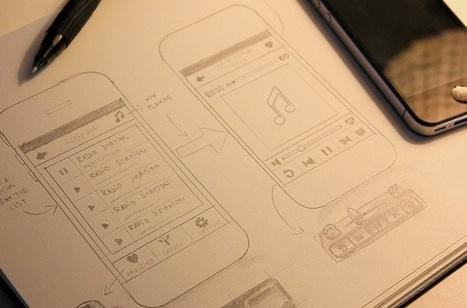 Design an iOS interface | Tutorial | Computer Arts magazine | eHS Mobile Classroom | Scoop.it