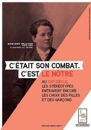 Kit d'affiches Féministes d'hier, combats d'aujourd'hui | Centre Hubertine Auclert | Les Femmes de Génie sont rares ? | Scoop.it